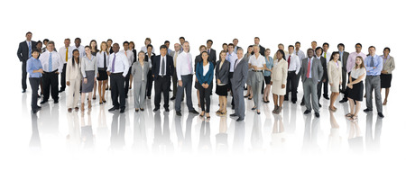 Mullti-ethnic group of business person Stock Photo