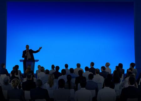 大規模なビジネス プレゼンテーション 写真素材 - 31418038