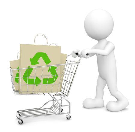 Green Shopping photo