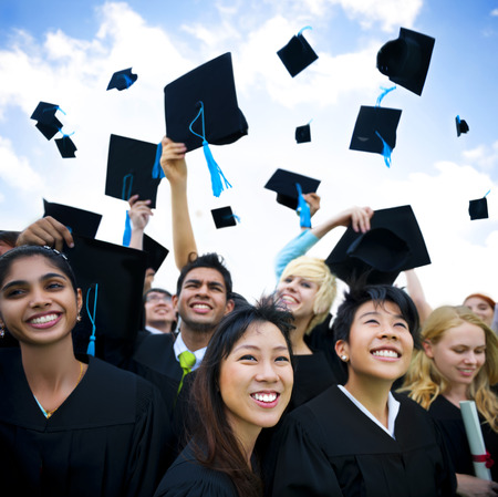 college graduate: Graduating students