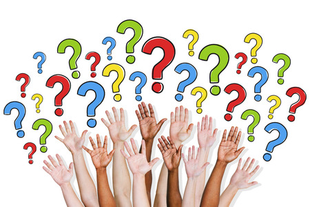 preguntando: Grupo de personas Hacer preguntas