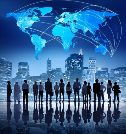 Global Business Team Reklamní fotografie - 31307979
