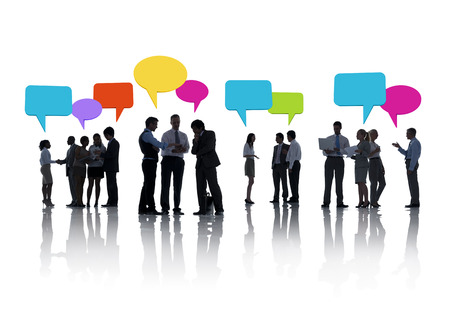 analysed: Group of Business People Brainstorming