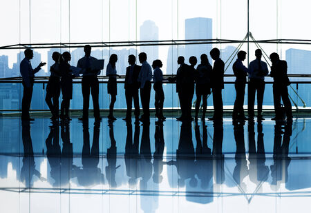 large group of business people: Large group of Business people meeting
