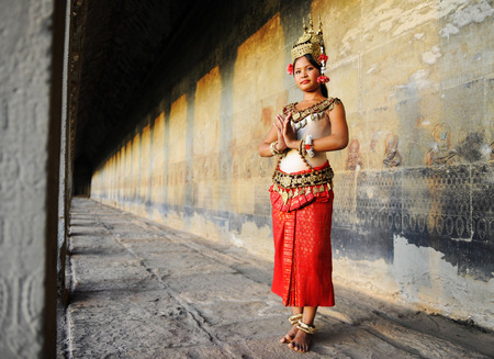 Cambodian lady
