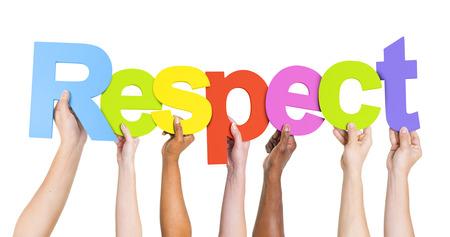 respeto: Respeto Foto de archivo