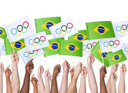olympic symbol: Brazil Olympics 2016