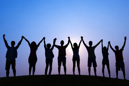 teamwork  together: Unity