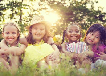 Dzieci: Dzieci w parku