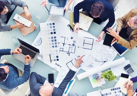Design Team Planung für ein neues Projekt Standard-Bild - 31311485
