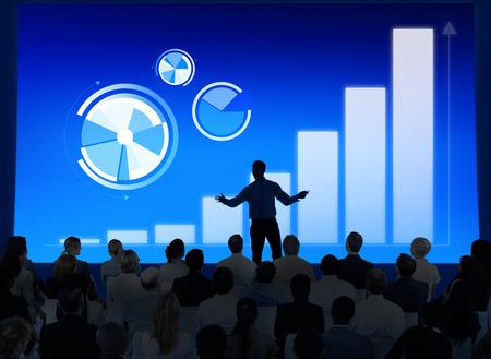 corporate meeting: Business Presentation Stock Photo
