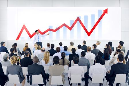 Business Presentation Banque d'images