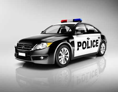 police lights: Police Car