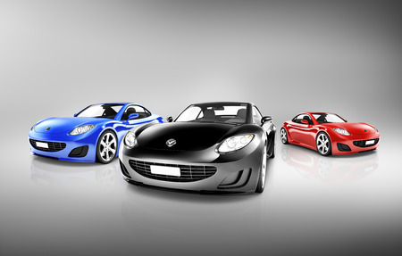 front of: Sports Car Collection