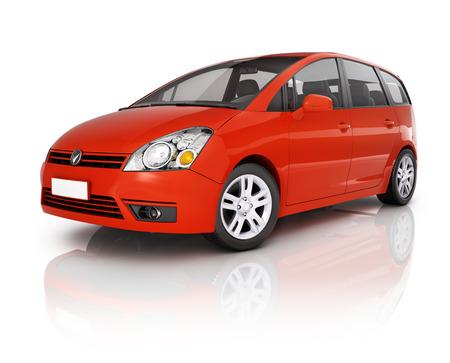 mpv: Red Car