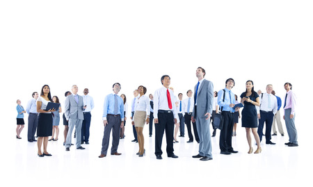 large group of business people: Large Group of Business People Stock Photo