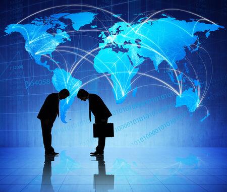 グローバル ビジネス会議