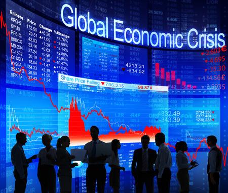 global economic crisis: Global Economic Crisis Stock Photo