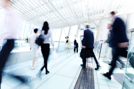 아시아에서 비즈니스 사람입니다. 홍콩.