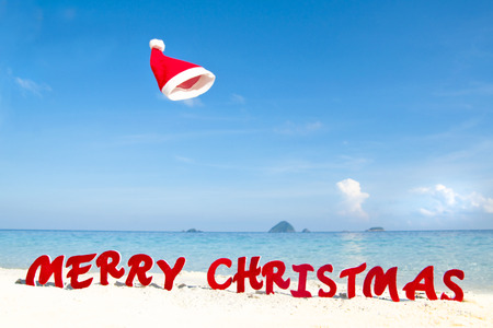 merry christmas beach theme stock photo 31336231 - Merry Christmas Beach