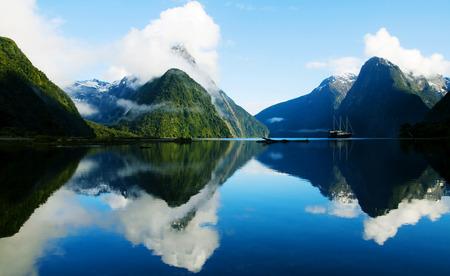 paradise place: Milford Sound, Fiordland, New Zealand.