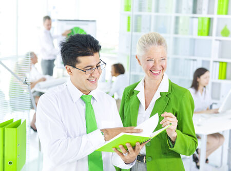 conservative: Green Business Meeting
