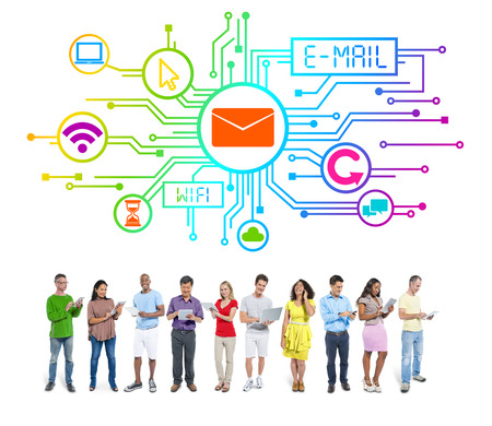 People Social Networking an E-Mail Concepts photo