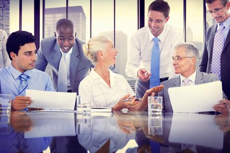 Zakelijke bijeenkomst bedrijfsconcept Office Stockfoto