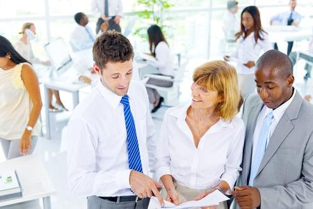 Group of Business People Meeting Reklamní fotografie