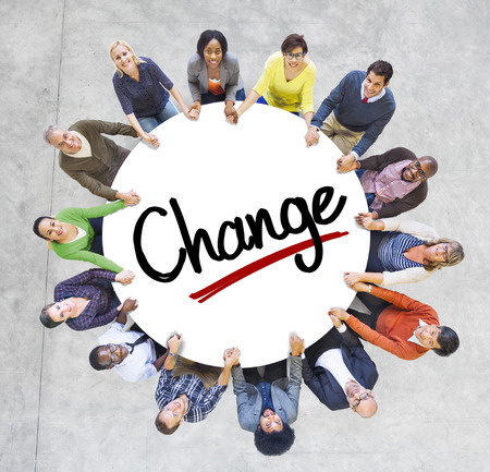 People Social Networking and Change Concept Stock Photo