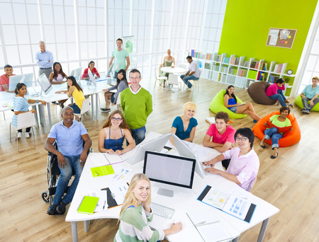 Group of Student in the Classroom photo