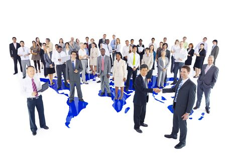 caucasian white: Diversity Business People Corporate Team Group Concept Stock Photo