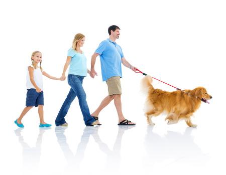 homme enceint: Happy Family Banque d'images