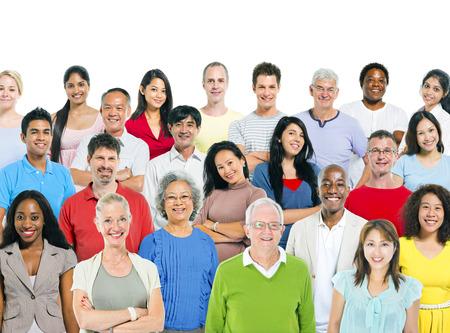 多民族の人々 の大規模なグループ