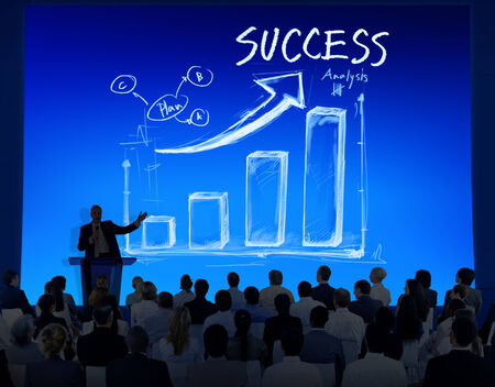 board room: Sucess Concept Business Seminar