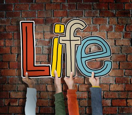 vital signs: Life Alive Ser Breath Existe Concept Nacimiento
