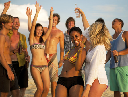 playas tropicales: Fiesta en la Playa
