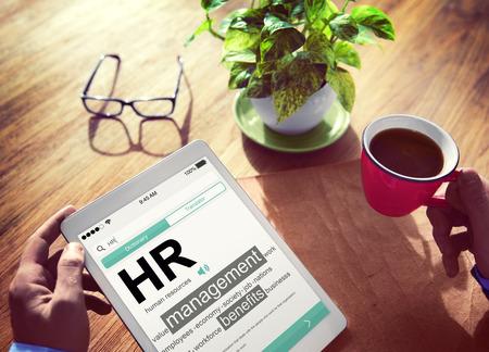 Digital Dictionary Human Resources Management Concept