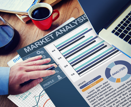 place of research: Market Analysis Strategy Office Working Concept