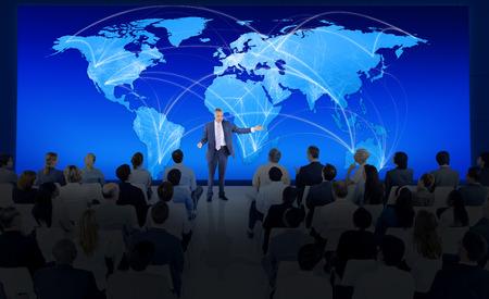グローバルなビジネス会議