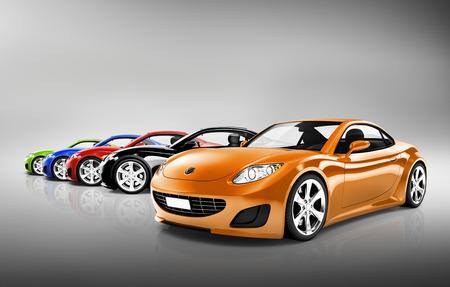 Sport Car Collection Banque d'images - 34403785