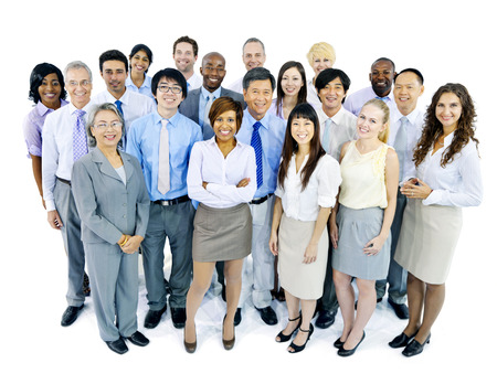 asian men: Business Team Stock Photo