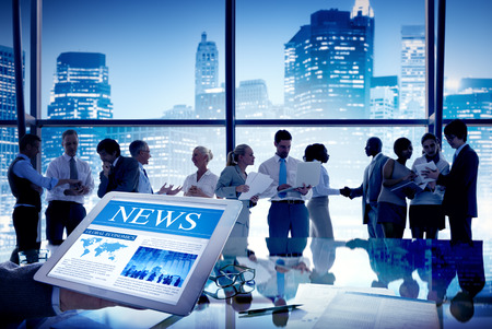 Group of People Discussion in Meeting News