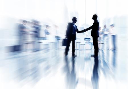 building trust: Business Concepts Ideas Coopration Decision Communication Concept