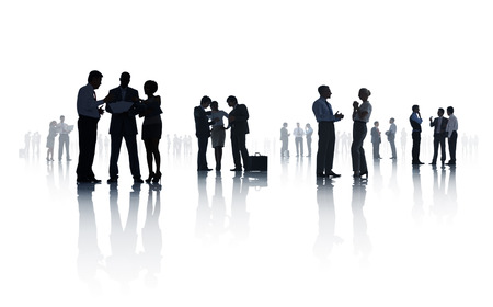 african business man: Group of Business Meeting Stock Photo