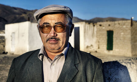 independent mongolia: Mongolian man.