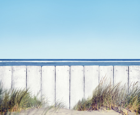 fence panel: Beach and Fence