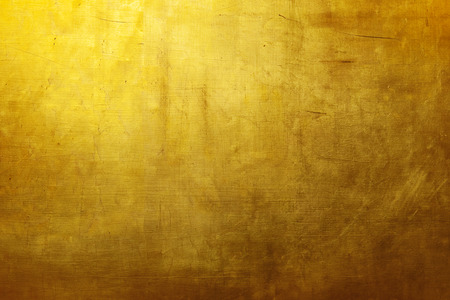 rusty metal: Gold texture wallpaper Stock Photo