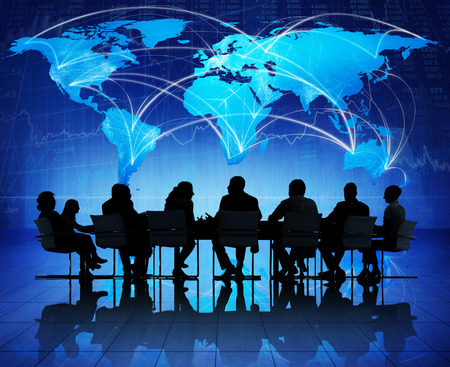 global communication: Global Business Meeting on Economic Recovery