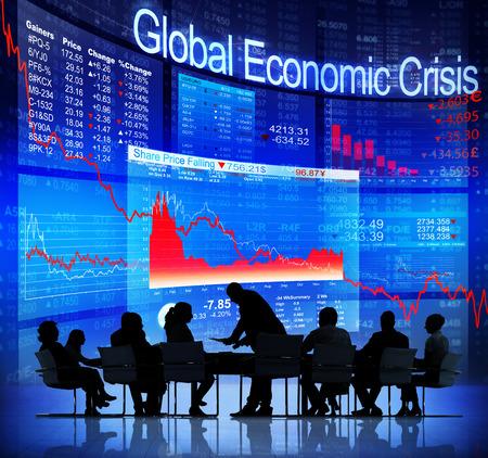 Global Economic Crisis Фото со стока